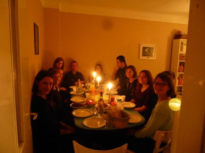 I finally made enough friends to have a grand dinner ;-)