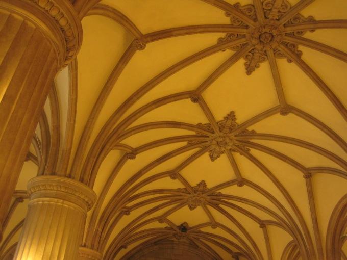 Hamburg's famous town hall interior