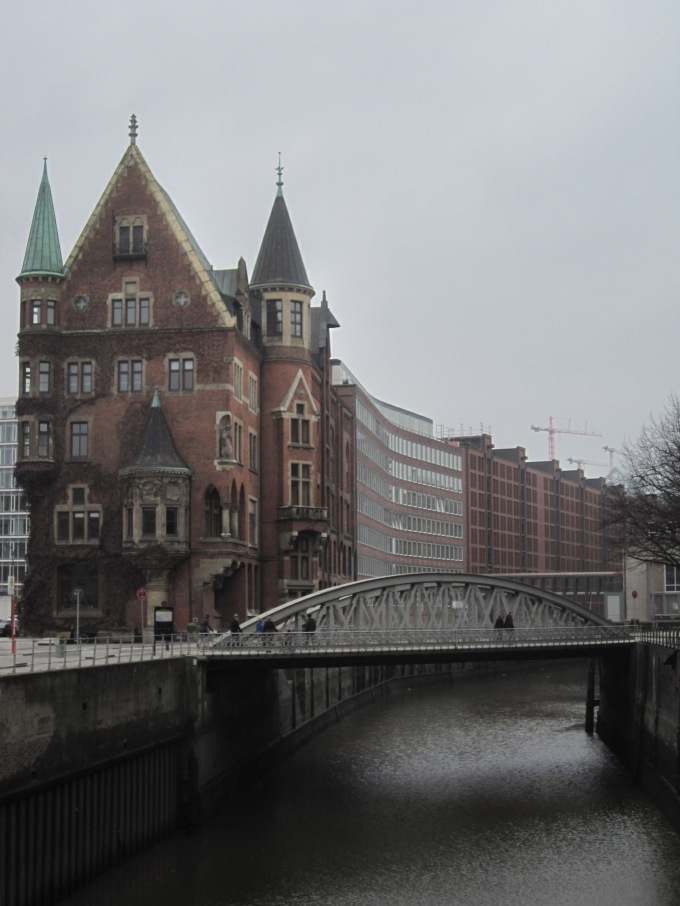 Old Speicherstadt where the shipping companies stored their goods...