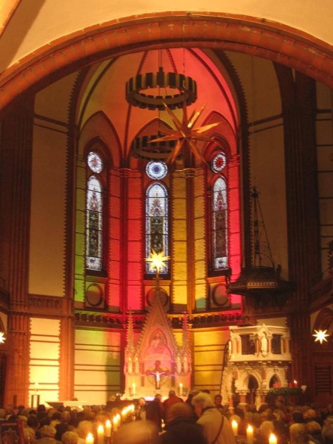Inside St Gertrud