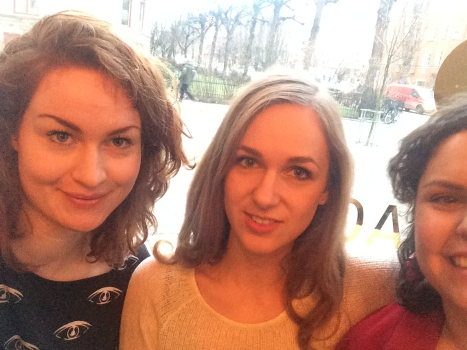 Meeting with two of my favorite German girls