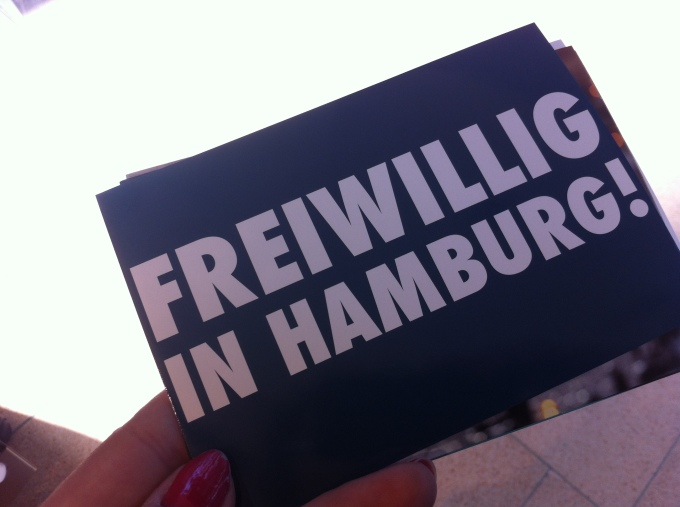 Voluntarily in Hamburg