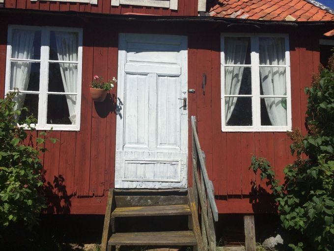 The snickargården where the protagonists lived