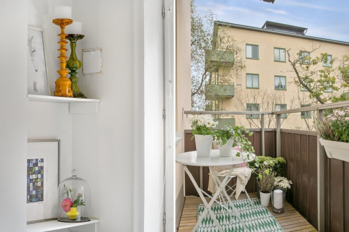 Swedish Balcony