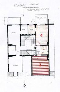 German apartment plan