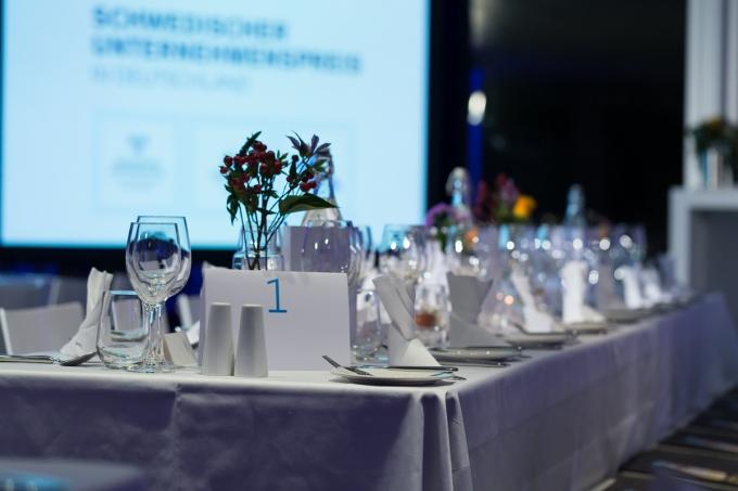 13. Verleihung des Schwedischen Unternehmenspreises