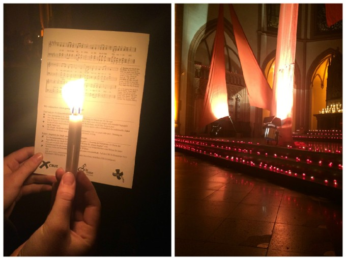The Taizé Night was impressive and meditative